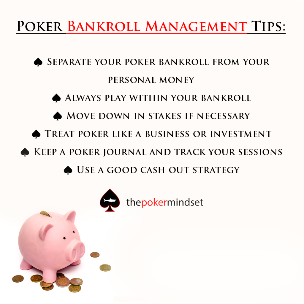 poker bankroll management tips