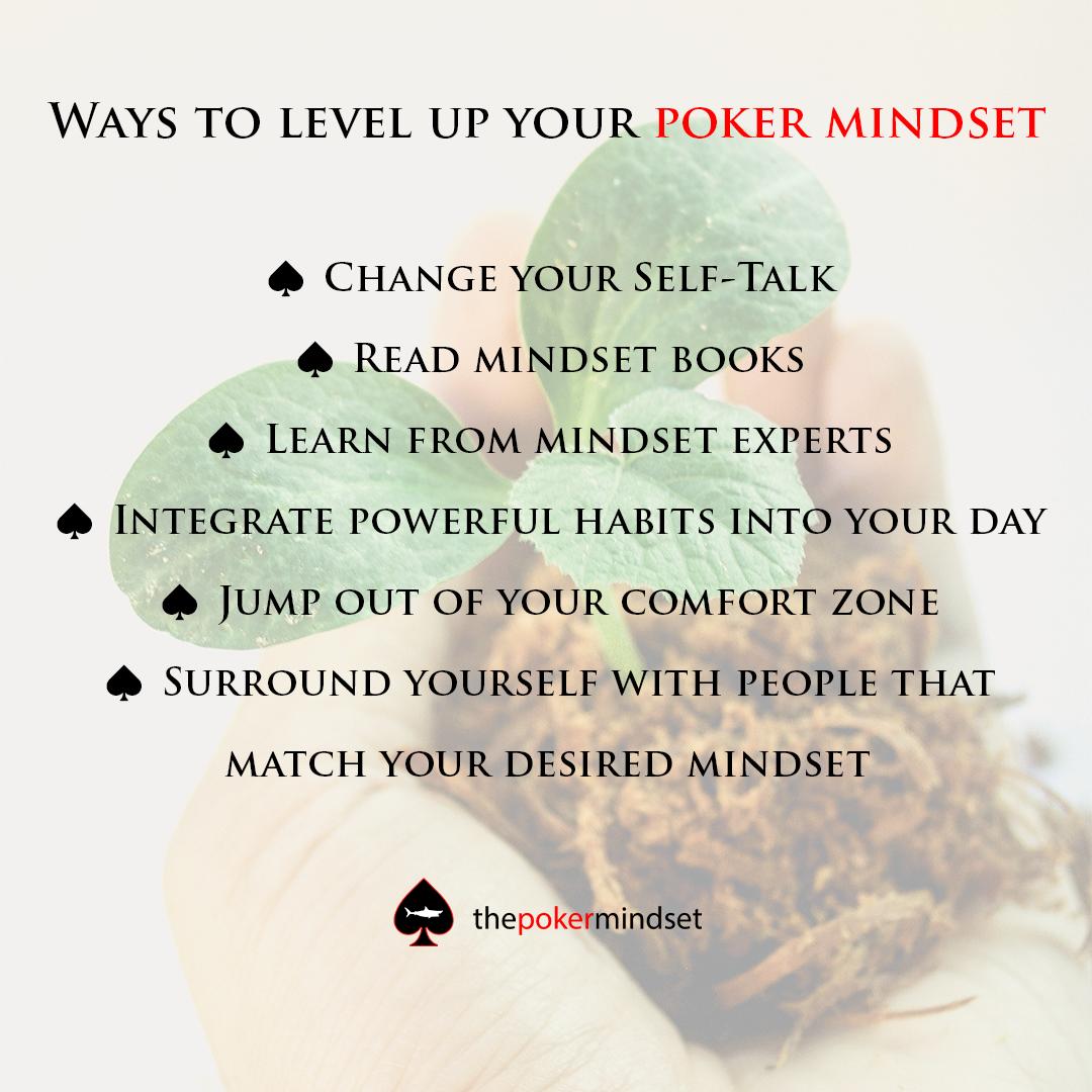 ways to level up your poker mindset
