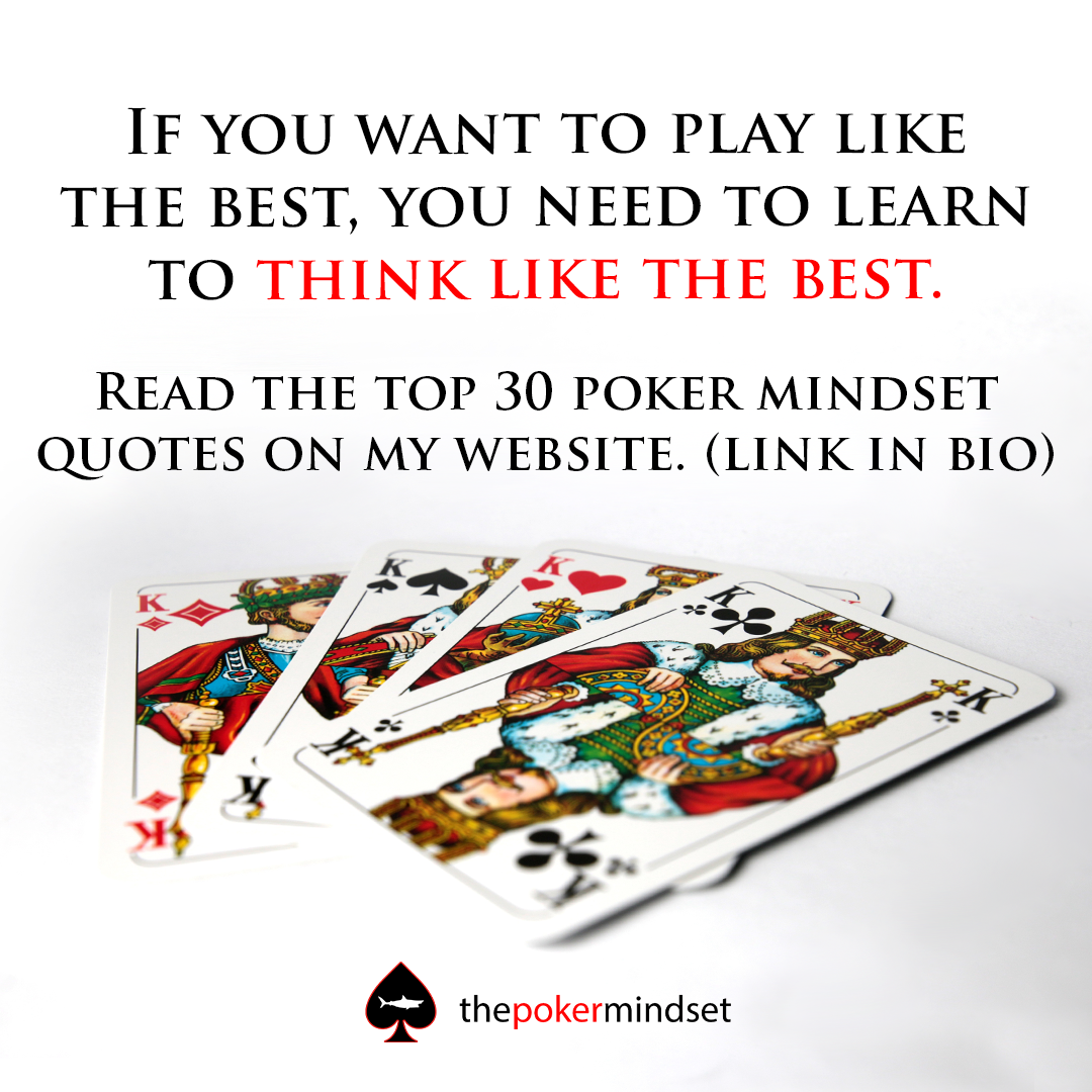 Top 30 poker mindset quotes