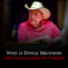 Why Is Doyle Brunson The Godfather Of Poker?