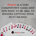 How Great Poker Players Handle Losses