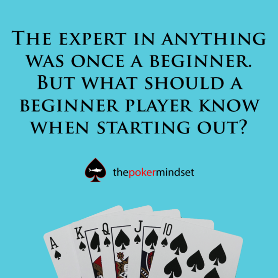 10 Tips For New Poker Players