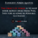 Top 50 Funny Poker Quotes