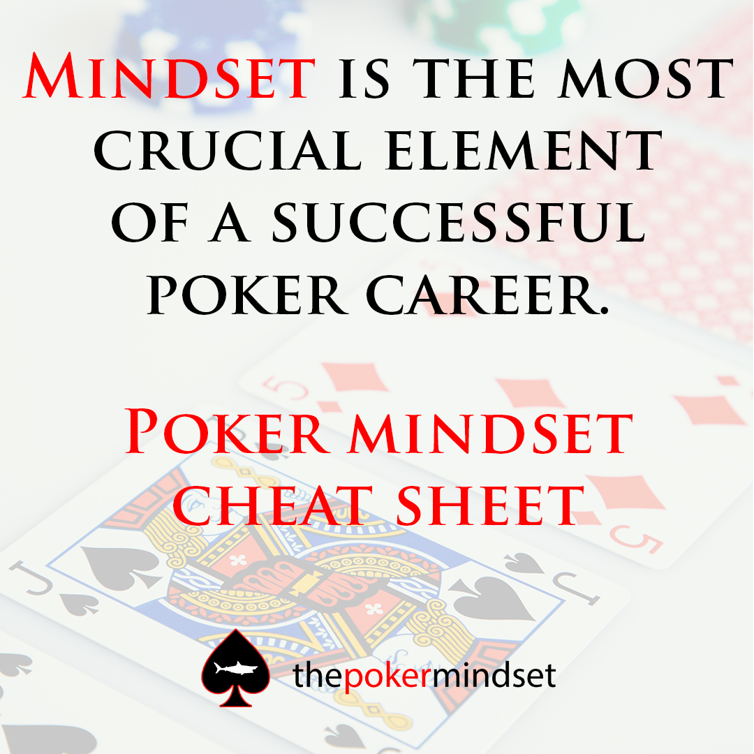 Lembar Cheat Pola Pikir Poker